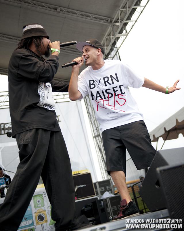Evidence @ Soundset Fest 2011