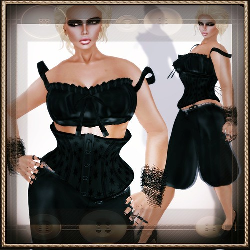 A&A Fashion Full Sculpted Outfit Susi Black