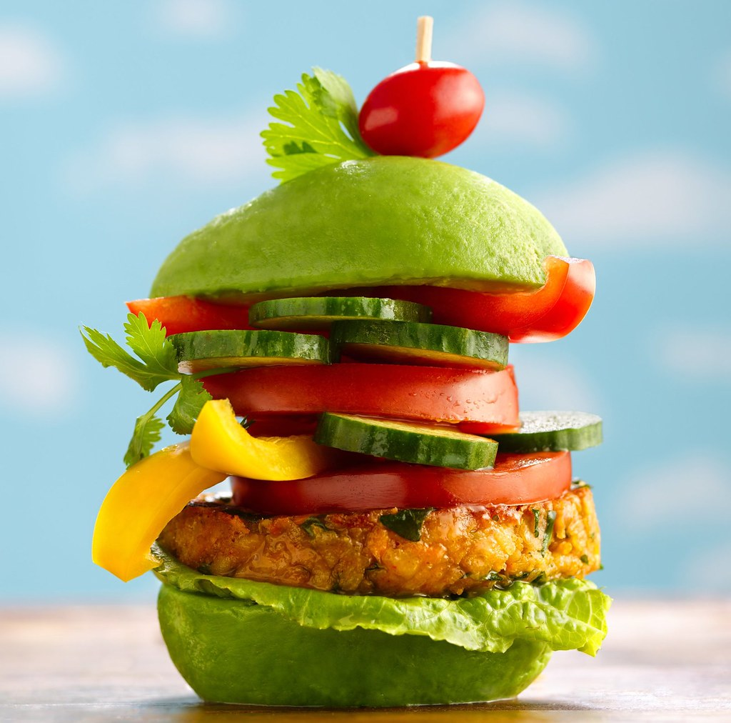 MONSTER Veggie Burgers Recipe