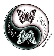 Butterfly and Stars Yin Yang tattoo design by Denise A. Wells (Denise A. Wells) Tags: blackandwhite tattoo pencil sketch artwork colorful artist heart drawing girly tattoodesign tattooflash starstattoo girlytattoos tattoophotos beautifultattoo tattooimages tattooimage tattoophoto tattoopicture tattoosforgirls tattoodesignsforwomen prettytattoo deniseawells creativetattoos customtattoodesign uniquetattoodesigns prettytattoodesigns girlytattoodesigns prettytattoodesign eleganttattoodesigns yinyangtattoodesign femininetattoodesigns tattoolinework cooltattoodesigns girlytattooideas stargazerlilytattoo bestgirlytattoos