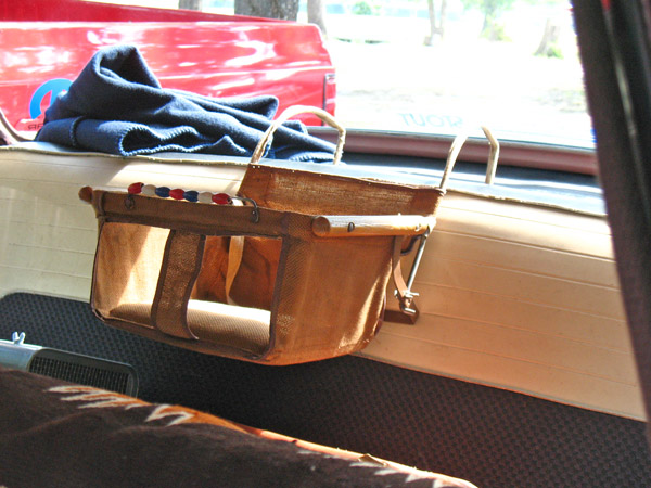 terrell 1955 dodge royal lancer child seat