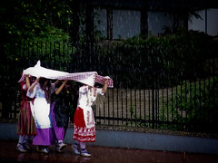 Para qu sirve un mantel (Suddenly R) Tags: lluvia bandodelahuerta fiestasdeprimavera