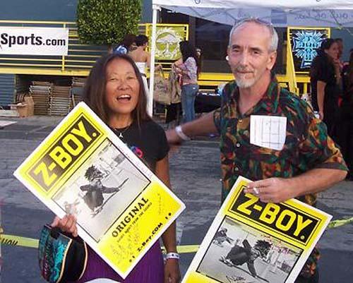 Peggy Oki & Chris Cahill