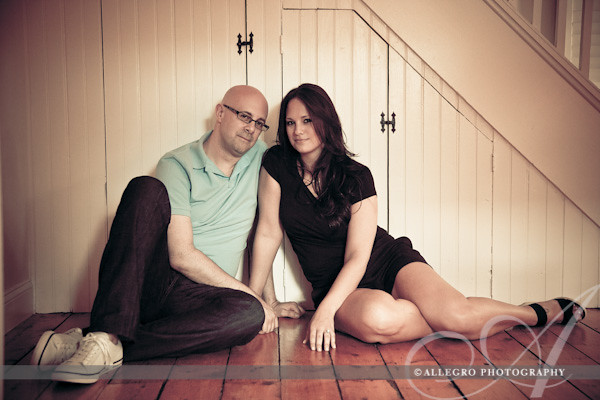 long-island-ny-engagement-session-home- chilling inside their home, li