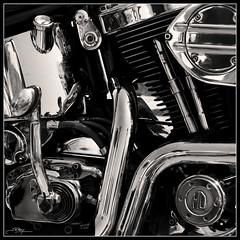 La Mquina (J.R.Rey (OFF)) Tags: nikon harley chrome motor motorbyke motocicleta byke cromado d90