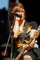 Martin From Abandon All Ships. (Logan Delape) Tags: festival singing guitar anchor bamboozle abandonallships martinbroda
