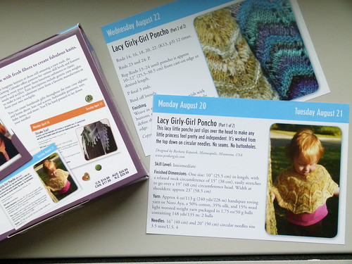 2012 Knitting Calendar