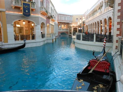 Canal inside Venetian