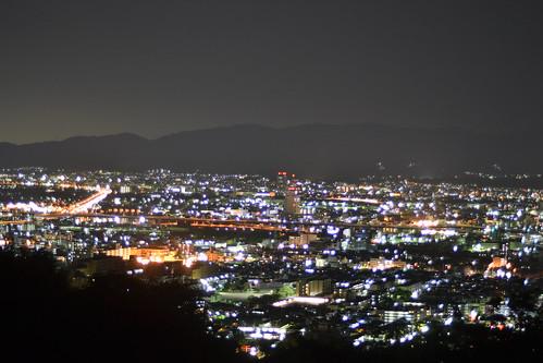 稲荷からの夜景