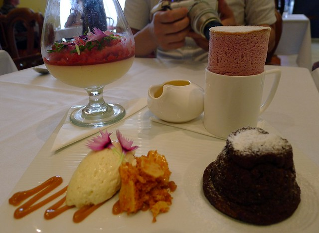 Assiette of desserts@Lt Truffle