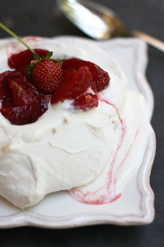 Strawberry Pavlova - Take 2