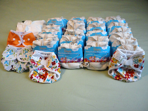 Newborn Cloth Diaper Stash