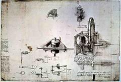 LEE60016 (HERRMANSO) Tags: original milan wheel pen ink private italian science collection biblioteca f da physics inventor inventions leonardo fin spindle copy cog renaissance scientists calculation codex facsimile 14521519 atlanticus a 99drawing ambosiana 1503407 crtvinci 393v lee60016