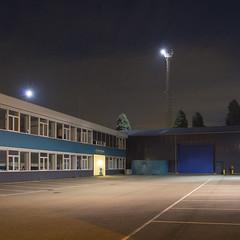 Rotterdam- Botlek (Danny Holleman) Tags: fujifilm rotterdam botlek industry office parking night bekverburg montrealweg