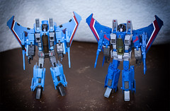 Twins? (Jon..Hall) Tags: masterpiece transformers seeker seekers thundercracker hasbro igear jet altmode nikon nikond7100 d7100 toy toys toyphotography