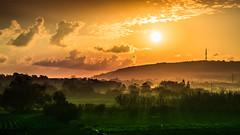 start into a wonderful day (K.H.Reichert) Tags: dunst malta morgenrot nebel sky sonnenaufgang sunrise dawn fog mist morning