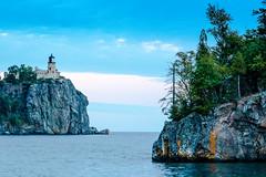 Split Rock Lighthouse (jamin1317) Tags: splitrock lighthouse duluth twoharbors minnesota lake lakesuperior greatlakes island rocks water sky scenic landscape canon t3i photography outdoors trees