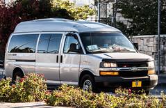 GOV-IL 20160930 05 (rOOmUSh) Tags: chevrolet gray rotating savana strobe shimonperes funeral motorcades