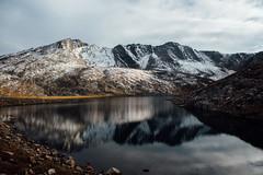 Summit Lake, Mt. Evans (Just Karen) Tags: mtevans colorado alpinelake dusk vsco