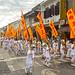 Street procession at Phuket Vegetarian Festival. October, 2016. Phuket, Thailand