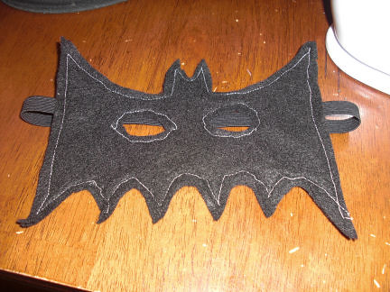 Bat Mask Unfinished