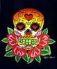 Skull & Roses skull done with