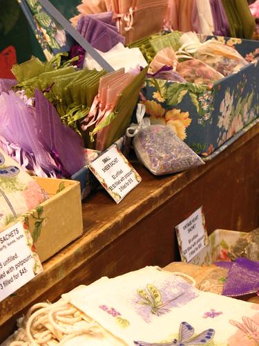 lavender satchels