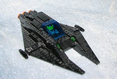 Fwoosh! (bluewithinblue) Tags: star fighter ship lego space scifi moc starfighter