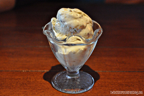 Homemade Pistachio White Chocolate Ice Cream at Tria ~ North Oaks, MN