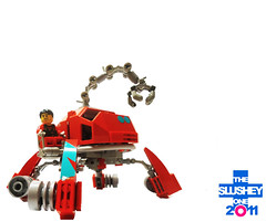 Lifter (The Slushey One) Tags: red one lego slush slushy slushee 2011 slushey