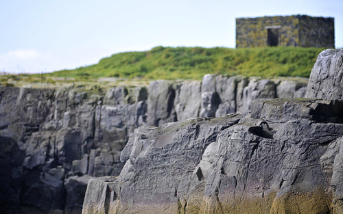 Grey Cliffs Of The Farne Islands
