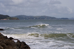 And there were waves (digiteyes) Tags: sanfrancisco goldengatebridge bayarea surfers ggnpc11