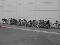 Dont know where one bike ends & another starts (Screwdriver32,more off than on :-() Tags: bike bicycle scotland fuji cycle finepix fujifilm ayr touring ctc ayrshire hs10 hs11 myfuji screwy32 screwdriver32 myfjui johnscrewdriver