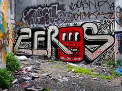 Zeros (funkandjazz) Tags: sanfrancisco california graffiti er zeros af ideal spank the lolc
