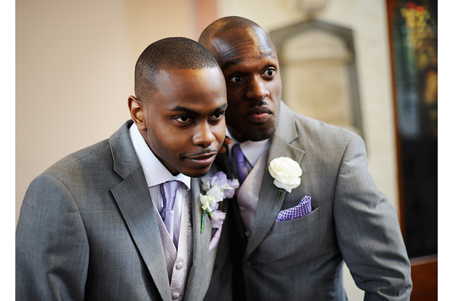 Lekan and his best man