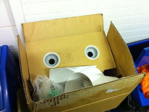 Cardboard Robo-Monster