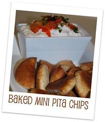 Baked Mini Pita Chips_By Poonam Phatak