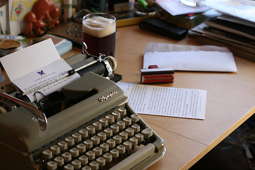 Afternoon Letter Writing