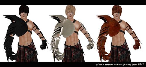 Gilded - Scorpion Armor