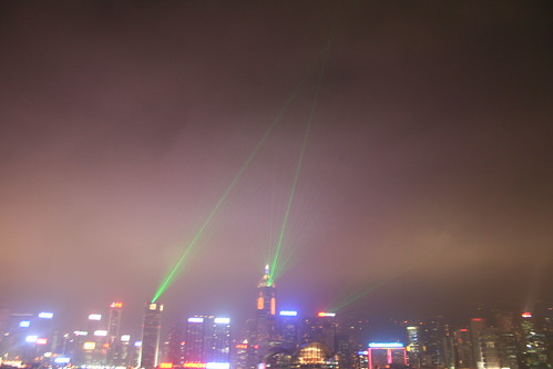 2011-02-25 - Hong Kong - Star walk - 06 - Evening light show