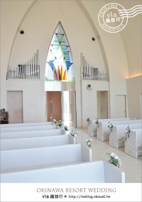 【沖繩教堂】沖繩美麗教堂之旅~Aquagrace、Aqualuce、Coralvita教堂14