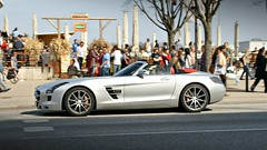 SLS Amg Roadster (LuxCars4You) Tags: red nice natural spyshot hamburg fast ferrari architektur lamborghini supercar neuerwall exklusivecars