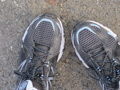 these shoes are made for running...