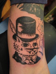 Top Hat Cat Tat. (SKIRT CHASER ONER) Tags: