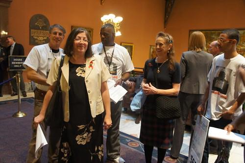 Making legislative visits