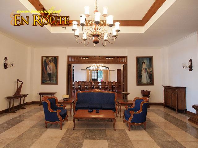 The elegant interiors at the reception area