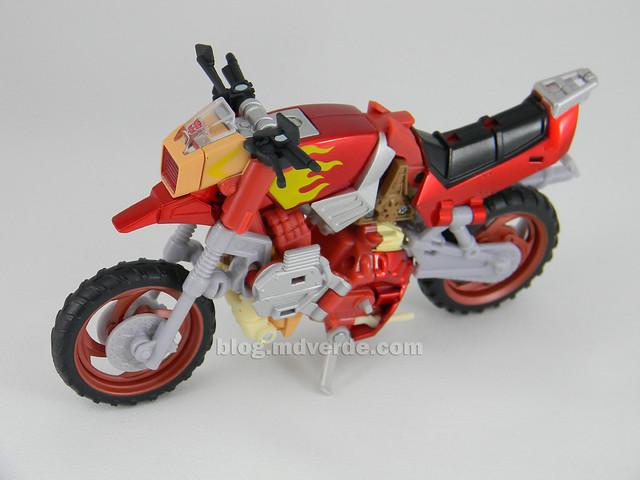 Transformers Wreck-Gar United Deluxe - modo alterno