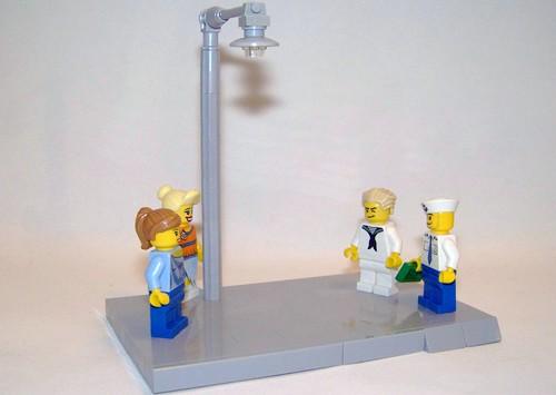 Custom minifig LEGO - Shore Leave