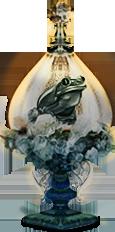 frog jar - ice