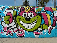 Los Angeles-Grafitti and things at Venice, Muscle and Santa Monica beaches. (DJLeekee) Tags: santa venice men beach birds america graffiti la los grafitti angeles fairground muscle graf fair monica doctor drugs shops kush a